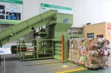 Resíduos de papel hidráulico da enfardadeira de plásticos para reciclagem de sucata