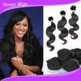 Migliori estensioni superiori dei capelli dell'onda del corpo del grado di qualità 9A per le acconciature di cerimonia nuziale