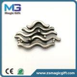 Nach Maß Metallfirmenzeichen-Decklackpin-Großhandelsabzeichen ohne Epoxy-Kleber