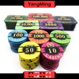 новый обломок покера конструкции 760PCS/акриловая награда обломоков бронзируя набор микросхем Ym-Lctj003 казина