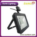 Sensor de Luz de Inundación del LED 50W al por Mayor de Movimiento PIR (SLFAP5 SMD 50W-PIR)