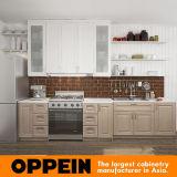 Heiße Verkaufs-amerikanische Art klassischer Thermofoil Küche-Schrank (OP16-PP04)