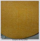 Couro sintético de couro gravado do PVC para o sofá, saco de mão da mobília