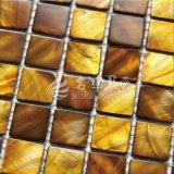 Azulejo de mosaico nacarado del shell especial del tinte
