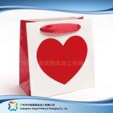 Bolsa de empaquetado impresa del papel para la ropa del regalo de las compras (XC-bgg-019)