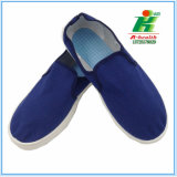Esd-antistatischer blauer Segeltuch-Funktions-Schuh für Cleanroom
