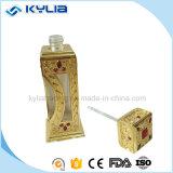 bottiglia di vetro del profumo del metallo 18ml con il coperchio a vite (MPB-31)