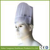 Cappello non tessuto del cuoco unico, protezione del cuoco unico con altezza media