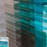 Polycarbonaat 100% Vers Materieel UV Met een laag bedekt Hol Blad voor Dakwerk