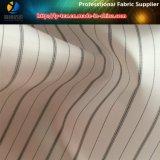 Черная/белая подкладка костюма, ткань нашивки пряжи полиэфира покрашенная для подкладки (S79.88)