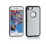 새로운 향상 iPhone를 위한 스티커를 가진 반대로 중력 케이스
