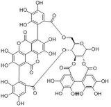 100% натуральные гранат очистите извлечения порошок Punicalagin 30-40%