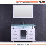 Vanità superiore di vetro classica T9097-36W della stanza da bagno