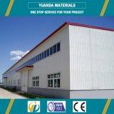 Poutre en double T laminée à chaud d'acier de construction, usine de structure métallique, entrepôt