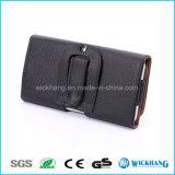 Ceinture en cuir horizontal Clip Universal Pouch Phone Case