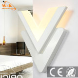 普及した安く暖かく軽い屋内装飾的なLEDの壁の空想ライト