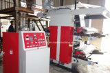 2 Machine van de Druk Flexo van de kleur de Gealigneerde met de Extruder van de Film