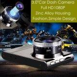 """Nuevo Hot 3.0 """"Full HD1080p cámara de la cámara de la videocámara del coche con H264. Formato MOV DVR, 5.0 Mega coche Negro Caja, 6g Lens, 170degree ángulo DVR-3017"""