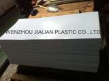 Filé en PVC rigide / feuille blanche matée