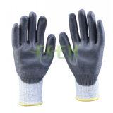 Les nitriles gris ont plongé le gant Chine (D78-G5) de travail industriel de sûreté de gants
