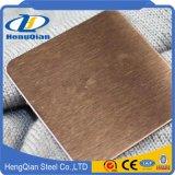 Colore dorato 201 strato dell'acciaio inossidabile del Ba 202 304 430