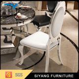 Tabela de jantar do mármore de Foshan da mobília da sala de jantar