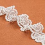 Testo fisso elastico del merletto del ricamo all'ingrosso di buona qualità