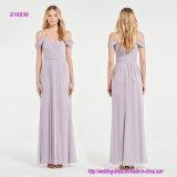 Оглушать задрапированное платье Bridesmaid типа плеча Grecian