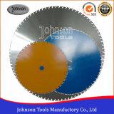 600-1500mm hoja de sierra de diamante de la pared de hormigón y hormigón
