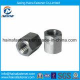 DIN6334 noix de couplage Hex galvanisée de l'acier inoxydable 304