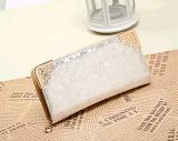 Fermeture à glissière Rock Lady Wallet en relief un sac à main (BDMC145)