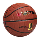 Composición PU cuero especial único baloncesto