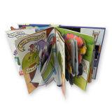 Grippaggio di scheda variopinto dei bambini della scatola, stampa del libro di Hardcover