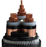 Изолированный XLPE Swa силового кабеля меди куртки PVC