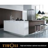 ヨーロッパの台所デザイン光沢の終わりの食器棚Tivo-0177V