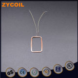 Luft-Kupfer-Ring der Hochfrequenzantennen-13.56MHz rechteckiger