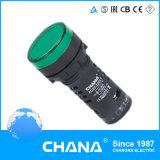 Indicador LED (AD22-16DS) com aprovação CE e RoHS