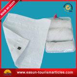 熱くか冷たいタオル飛行中タオルの皿の綿タオル