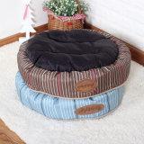 Quality Soft Dog Mats Circle Flocked Coral Velvet Pet Beds