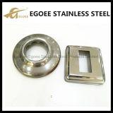 Cubierta E-144 de la base cuadrada del acero inoxidable