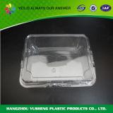 Прикрепленная на петлях пластмассой коробка упаковки хлебопекарни крышки