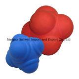 Hexagonales de caucho flexible de formación de reacción la velocidad de bola
