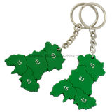 Promotion Custom 3D Forme Soft PVC Rubber Keychains