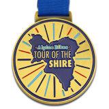 Aereo corrente della casella di presentazione della medaglia del premio di modo del metallo promozionale di Pin