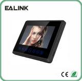 """7 """"Handfree Video Door Phone com Touch Key"""