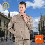 Uniforme do posto de gasolina do OEM, projeto uniforme de Jack do polo para o uniforme Labour