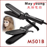 Commerce de gros Cool pointe et conception ergonomique Professionnal Hair Straightener