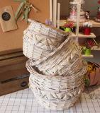 (BC-WF1018) 순수한 Handmade 자연적인 버드나무 꽃 바구니