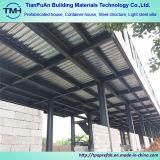 Zwei Fußboden-Stahlkonstruktion-vorfabriziertes Bürohaus