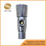 China Preço barato Válvula de esfera de bronze em ângulo